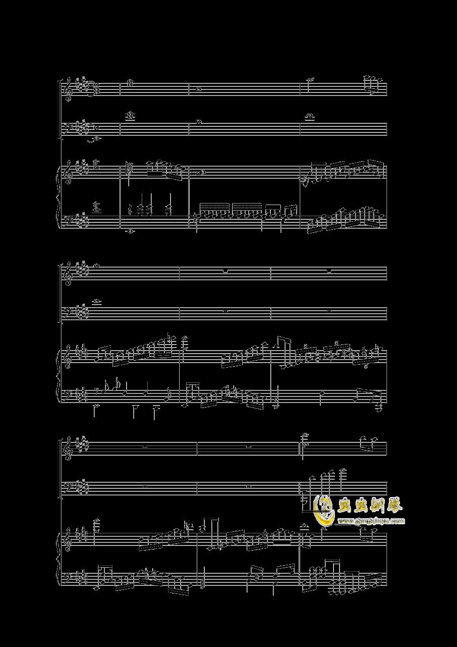 Piano Concerto I (2 mov)钢琴谱 第3页