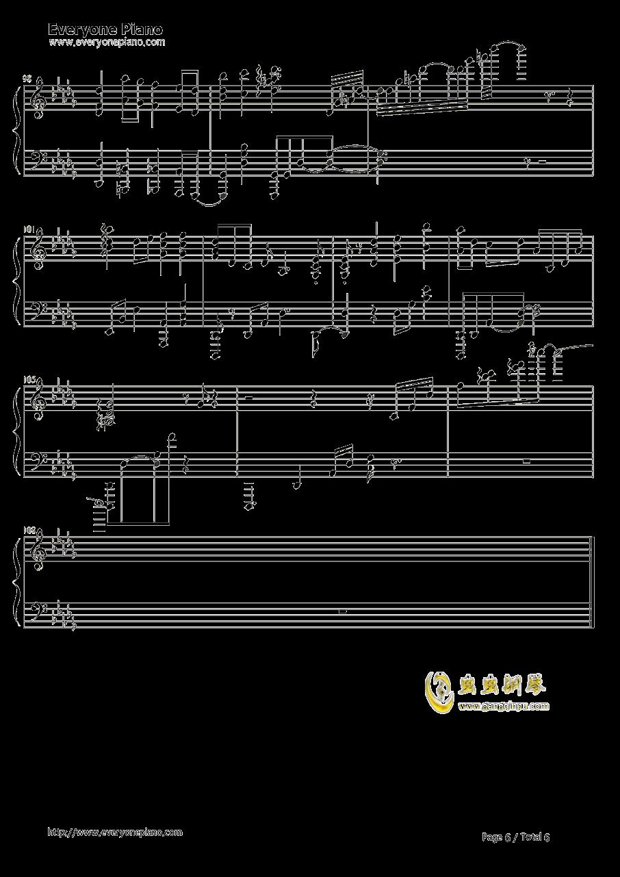 逆战(张钰老师改编)钢琴谱-环球钢琴网