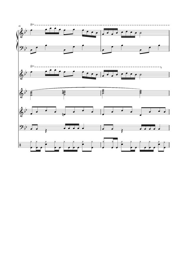 浏阳河乐队总谱,浏阳河乐队总谱钢琴谱,浏阳河乐队总谱钢琴谱网,