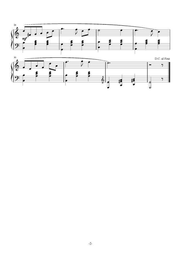 �~月ゆら--etoile钢琴谱 第2页