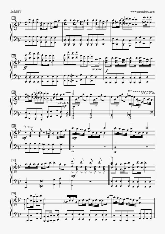 なんとなくミライ钢琴谱 第2页