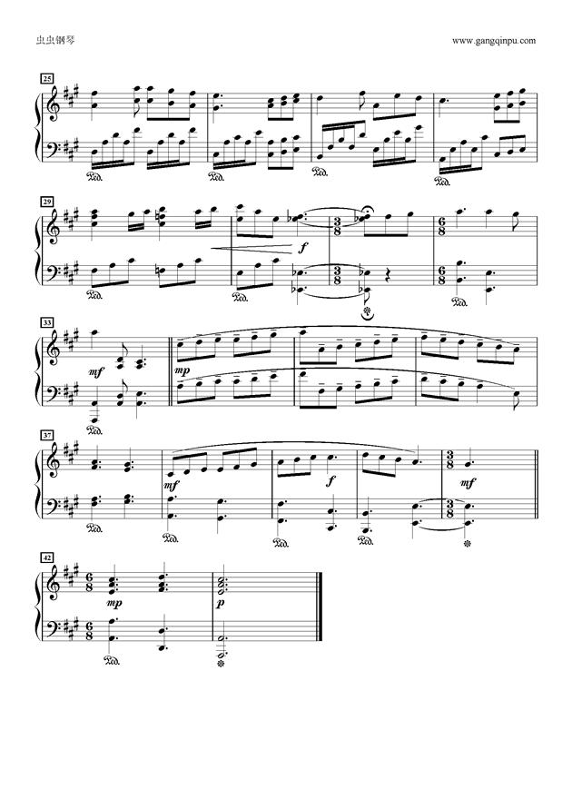 おはなしをしよう钢琴谱 第2页