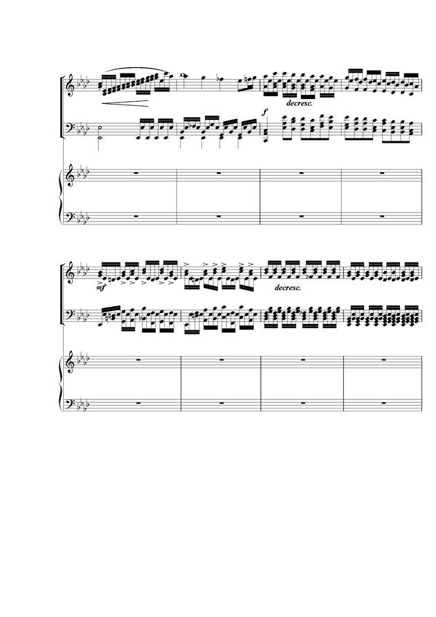 Piano Concerto No.2钢琴谱 第4页