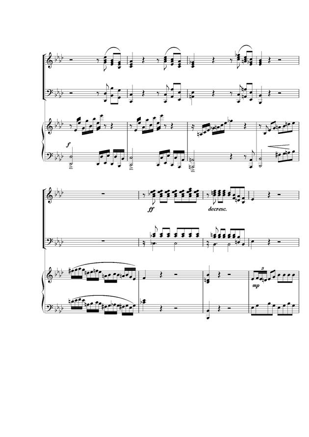 Piano Concerto No.2钢琴谱 第8页