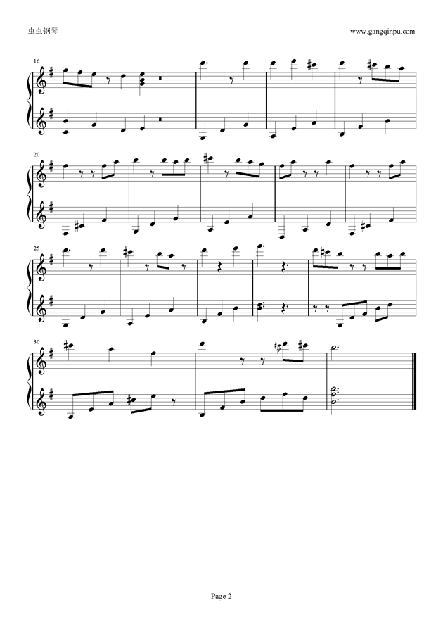 Hybrid Child钢琴谱 第2页