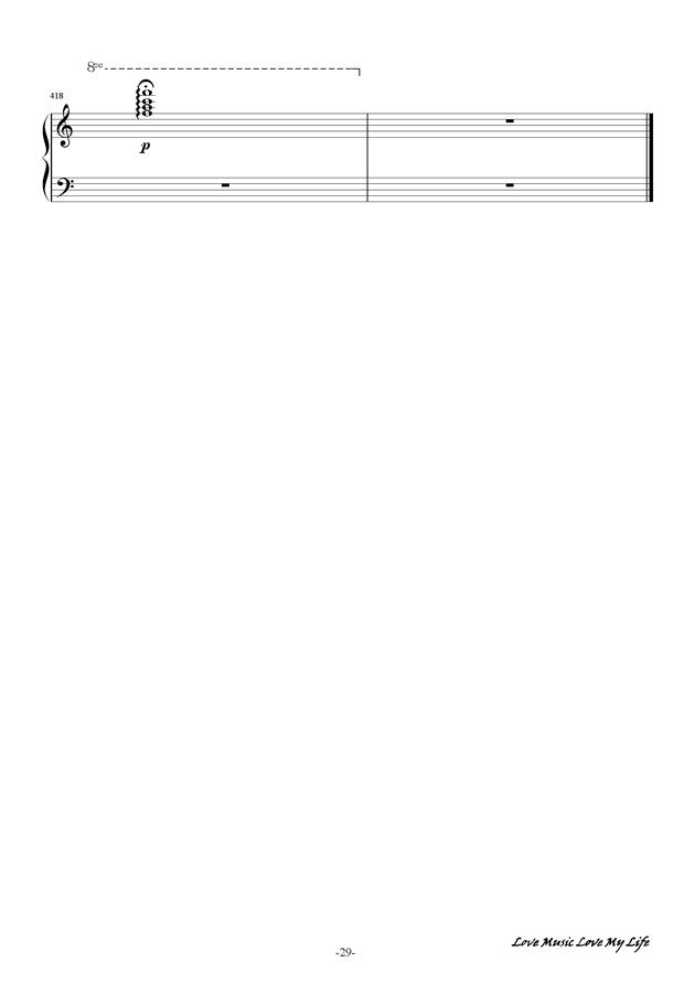 触手猴钢琴谱 第29页