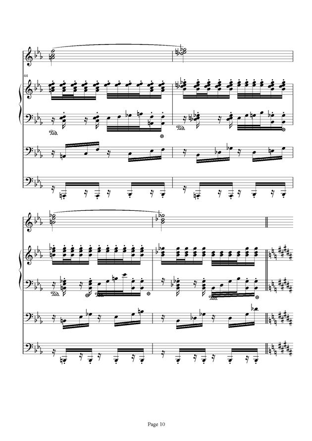 红脸猴贺曲钢琴谱 第10页