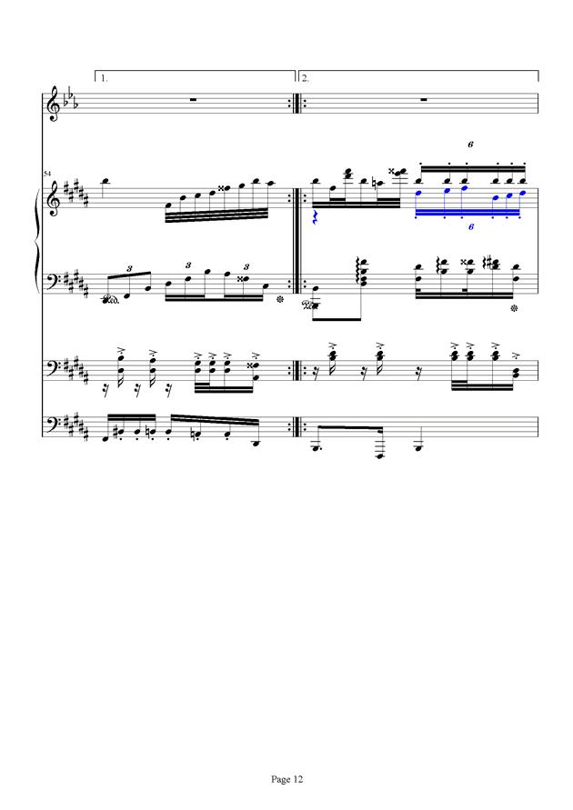 红脸猴贺曲钢琴谱 第12页