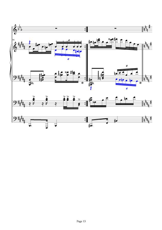 红脸猴贺曲钢琴谱 第13页