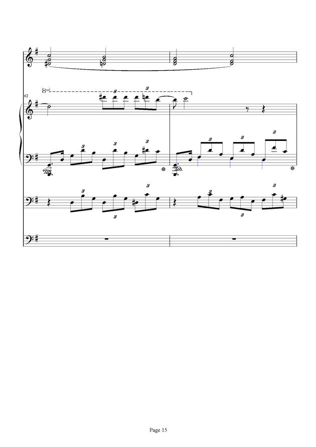 红脸猴贺曲钢琴谱 第15页