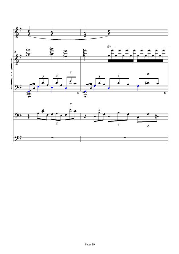 红脸猴贺曲钢琴谱 第16页