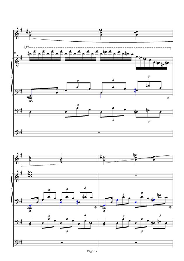 红脸猴贺曲钢琴谱 第17页