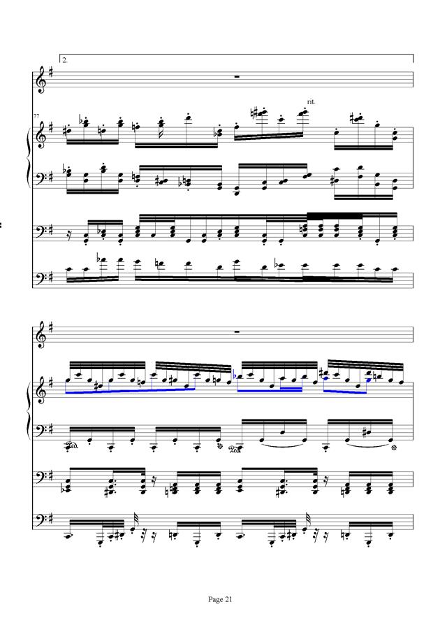 红脸猴贺曲钢琴谱 第21页