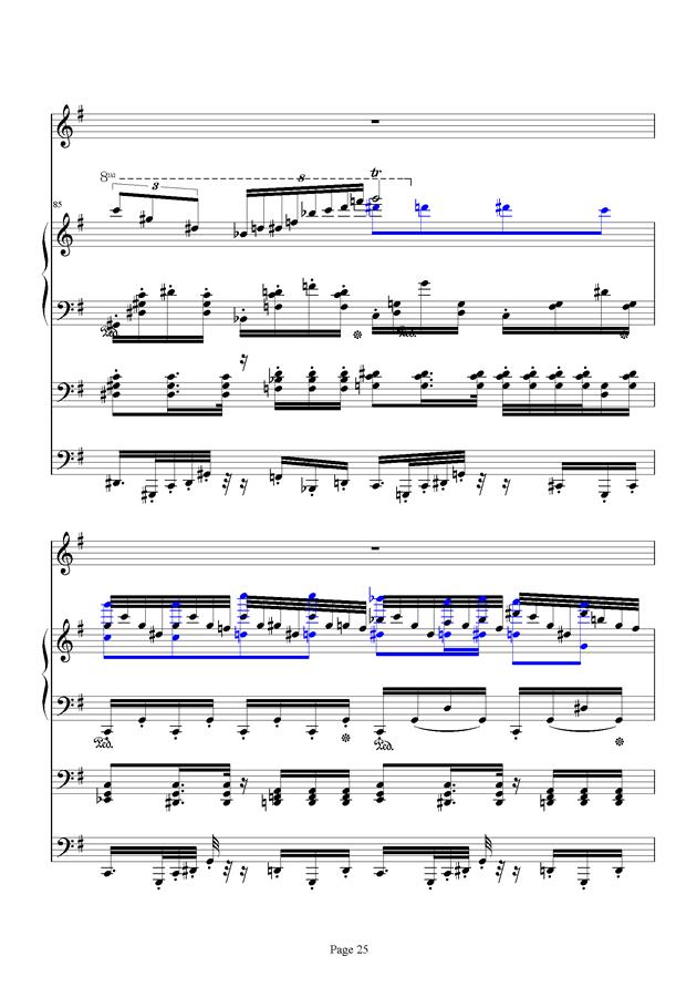 红脸猴贺曲钢琴谱 第25页