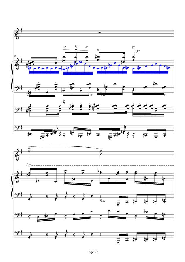 红脸猴贺曲钢琴谱 第27页