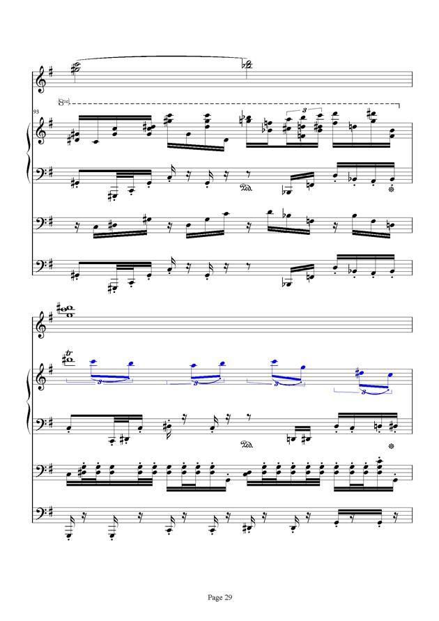 红脸猴贺曲钢琴谱 第29页