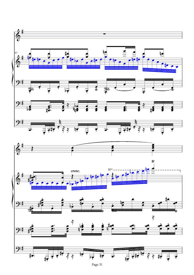 红脸猴贺曲钢琴谱 第31页