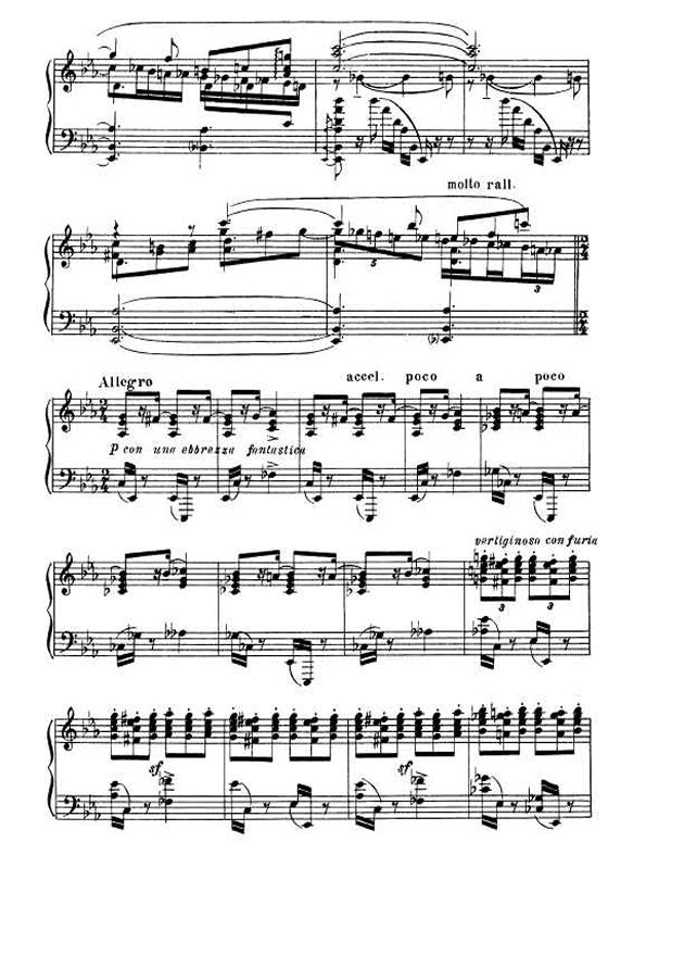 斯克里亚宾第5奏鸣曲钢琴谱 第15页