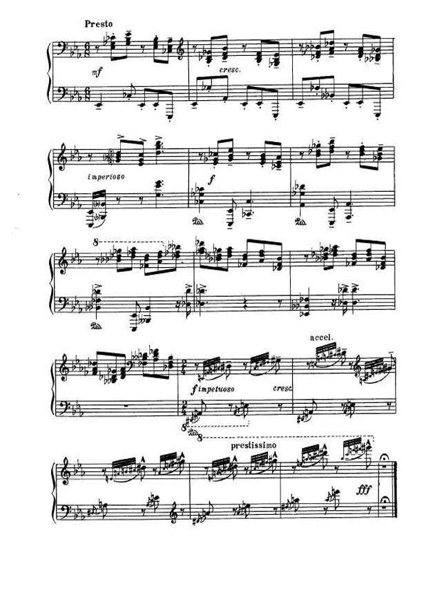 斯克里亚宾第5奏鸣曲钢琴谱 第18页