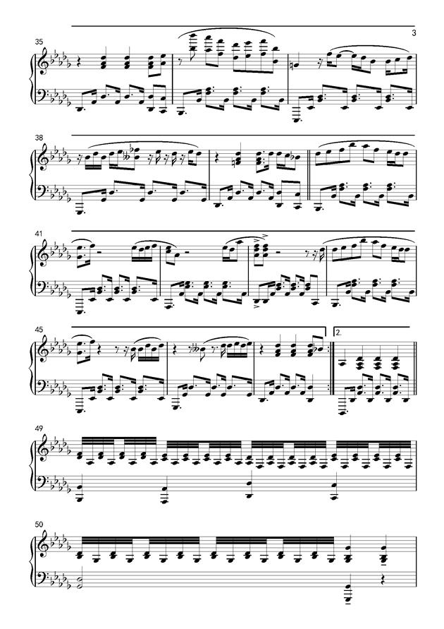 If You钢琴谱 第3页