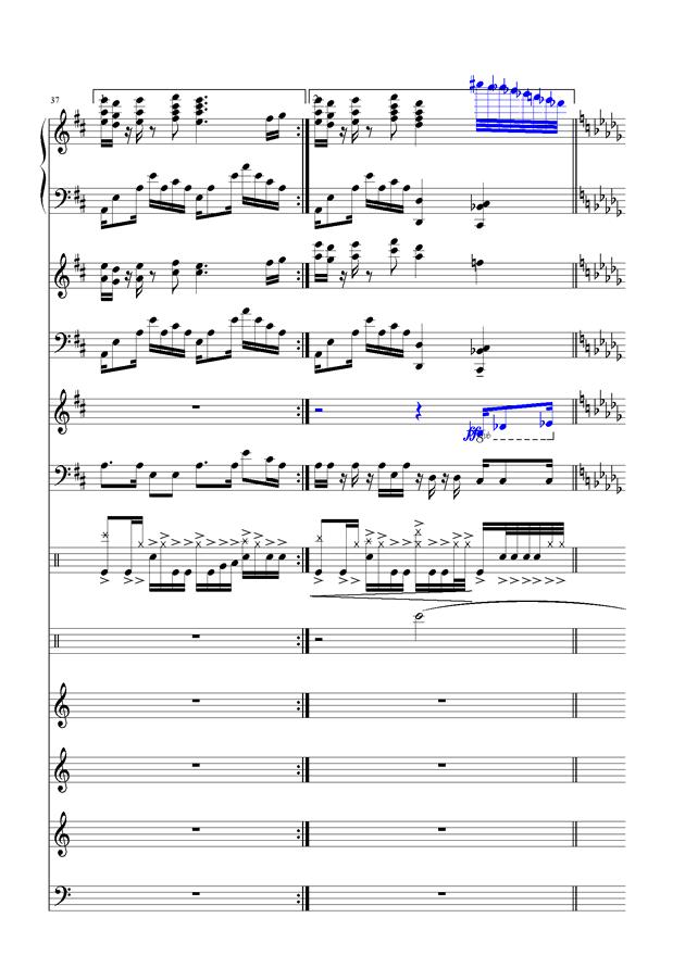 盛秋-落叶的旅行钢琴谱 第15页