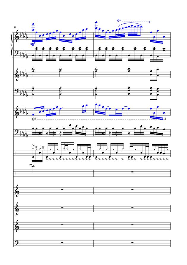 盛秋-落叶的旅行钢琴谱 第16页