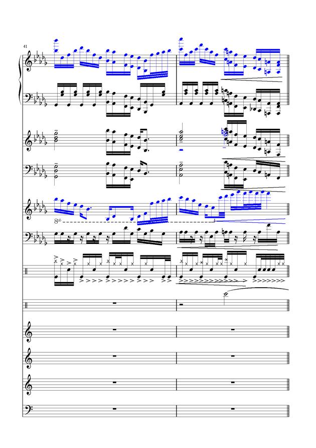 盛秋-落叶的旅行钢琴谱 第17页