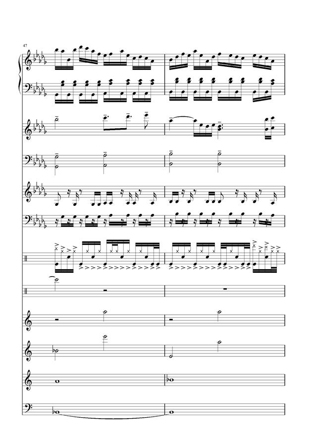 盛秋-落叶的旅行钢琴谱 第20页