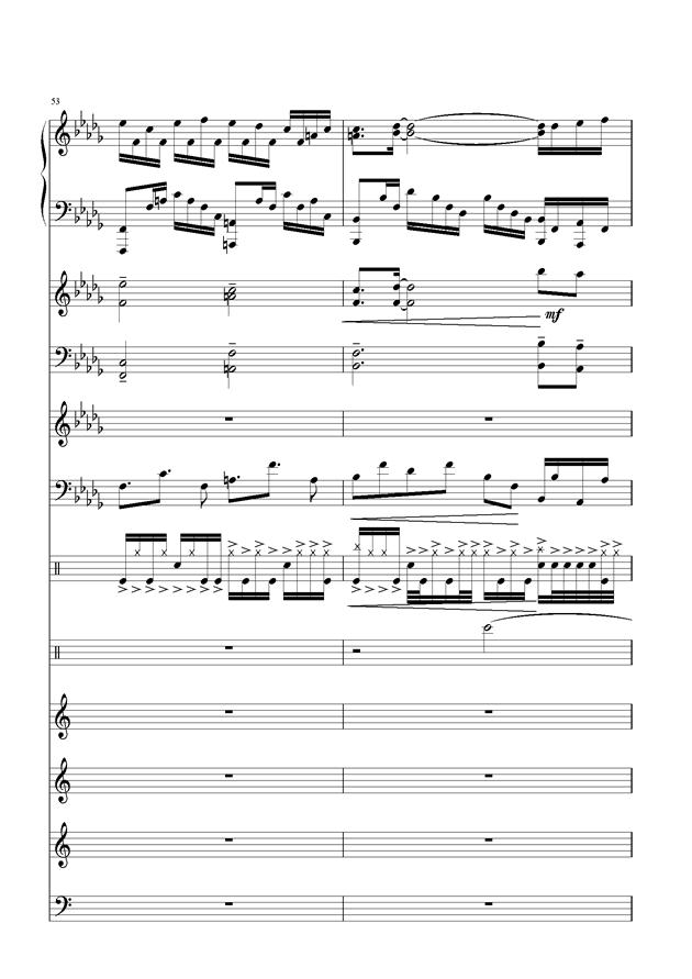 盛秋-落叶的旅行钢琴谱 第23页