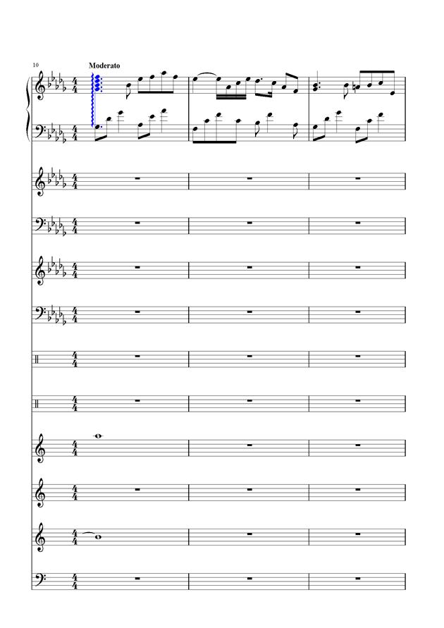盛秋-落叶的旅行钢琴谱 第3页