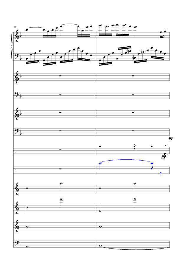 盛秋-落叶的旅行钢琴谱 第31页