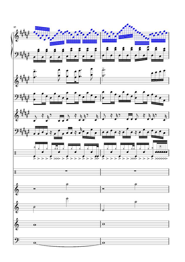 盛秋-落叶的旅行钢琴谱 第39页