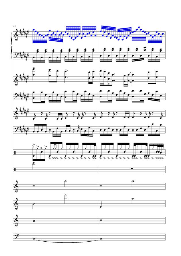 盛秋-落叶的旅行钢琴谱 第40页