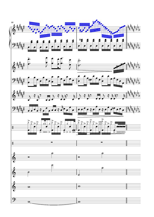 盛秋-落叶的旅行钢琴谱 第41页
