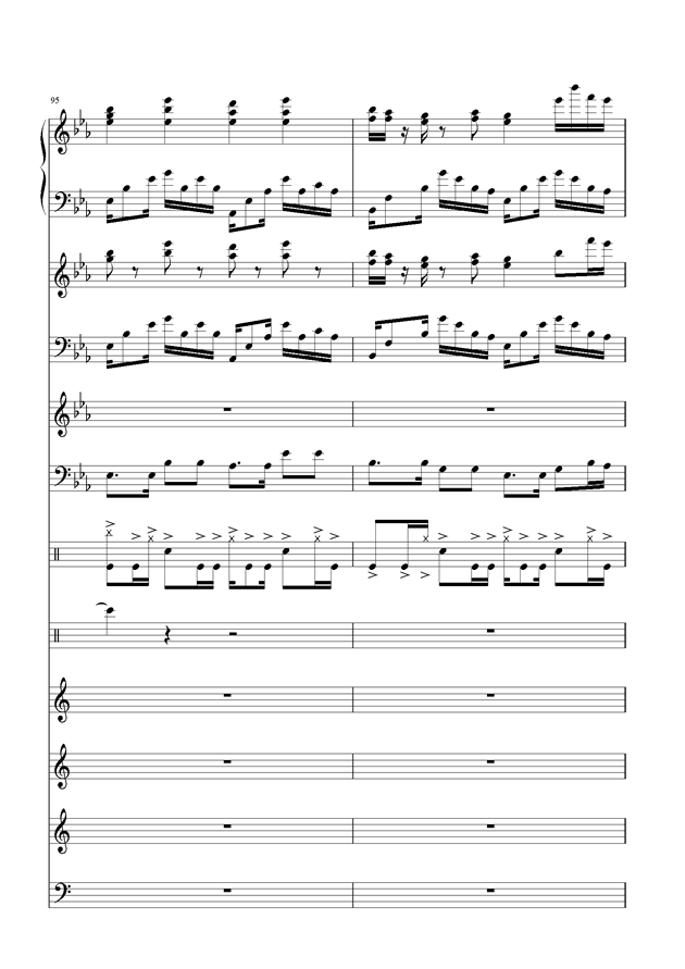盛秋-落叶的旅行钢琴谱 第44页
