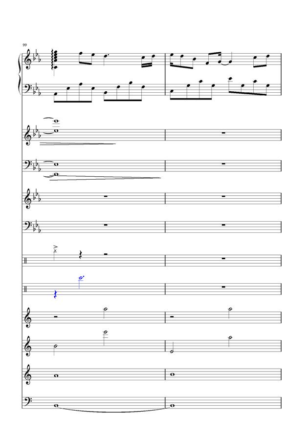 盛秋-落叶的旅行钢琴谱 第46页