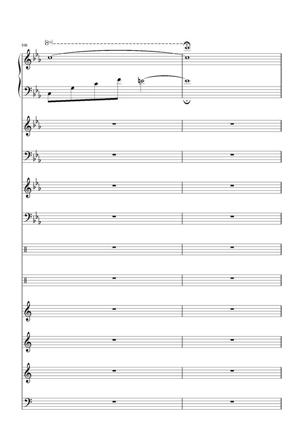 盛秋-落叶的旅行钢琴谱 第49页