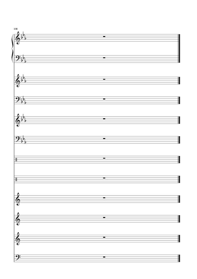 盛秋-落叶的旅行钢琴谱 第50页