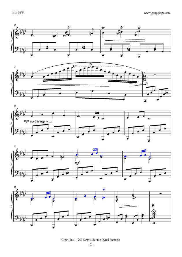 浪漫曲,浪漫曲钢琴谱,浪漫曲钢琴谱网,浪漫曲钢琴谱大全,虫虫钢