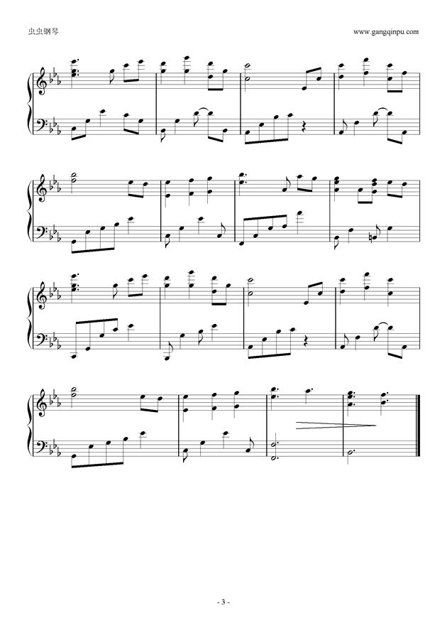 被遗忘的时间钢琴谱.