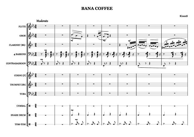 Bana Coffee钢琴谱 第2页