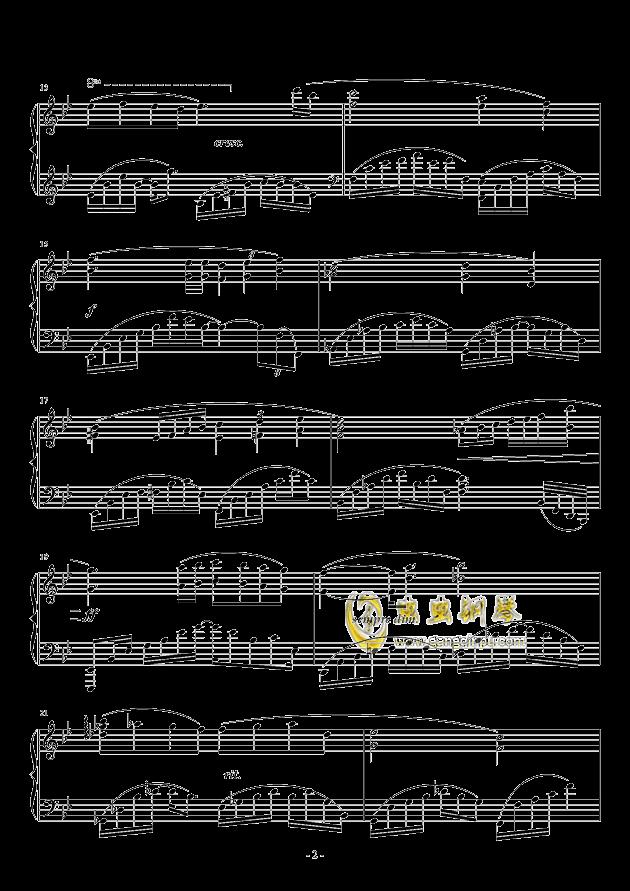 晨曦钢琴谱 第2页