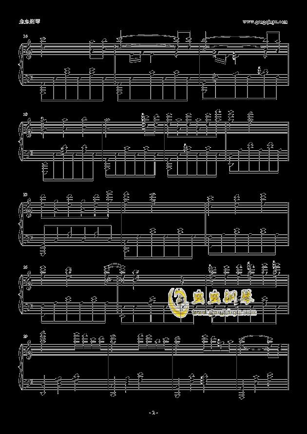 前世情人钢琴谱 第2页