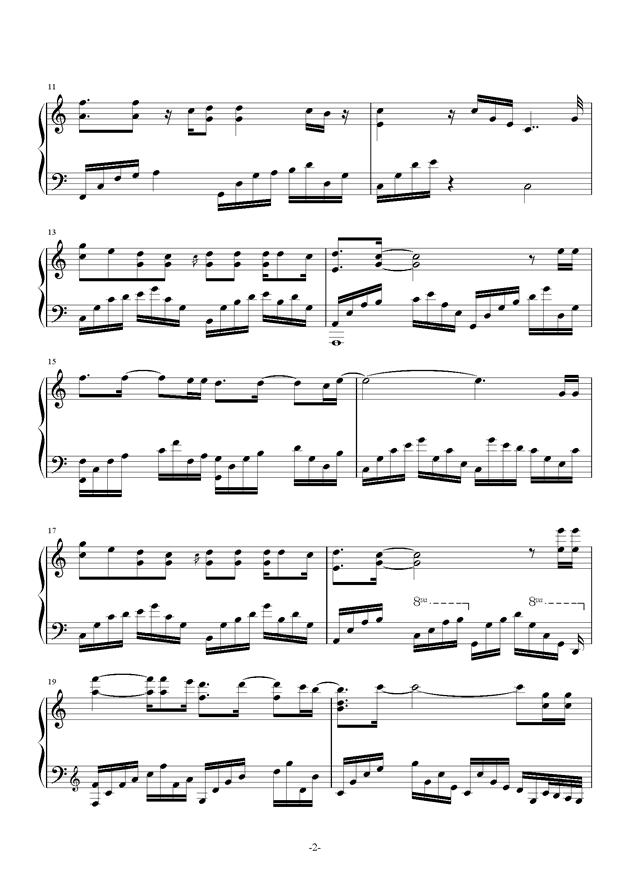 南山南ag88环亚娱乐谱 第2页
