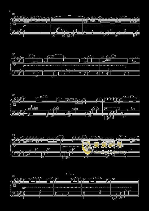 这份爱钢琴谱 第2页