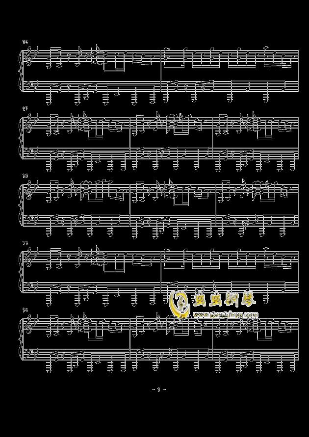 天空のグリニッジ钢琴谱 第3页
