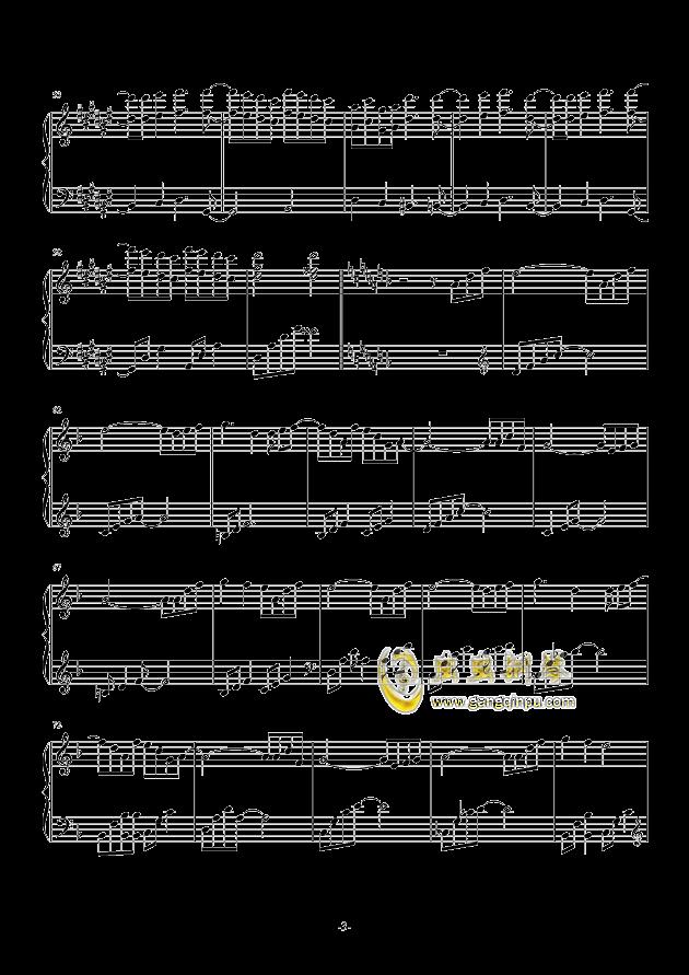 �@花烂漫钢琴谱 第3页