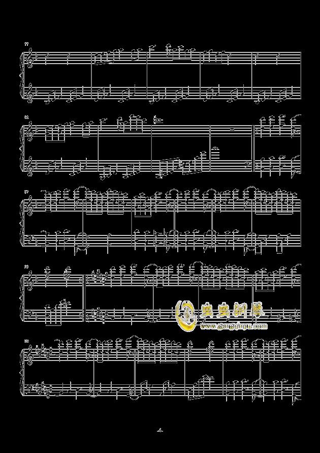 �@花烂漫钢琴谱 第4页