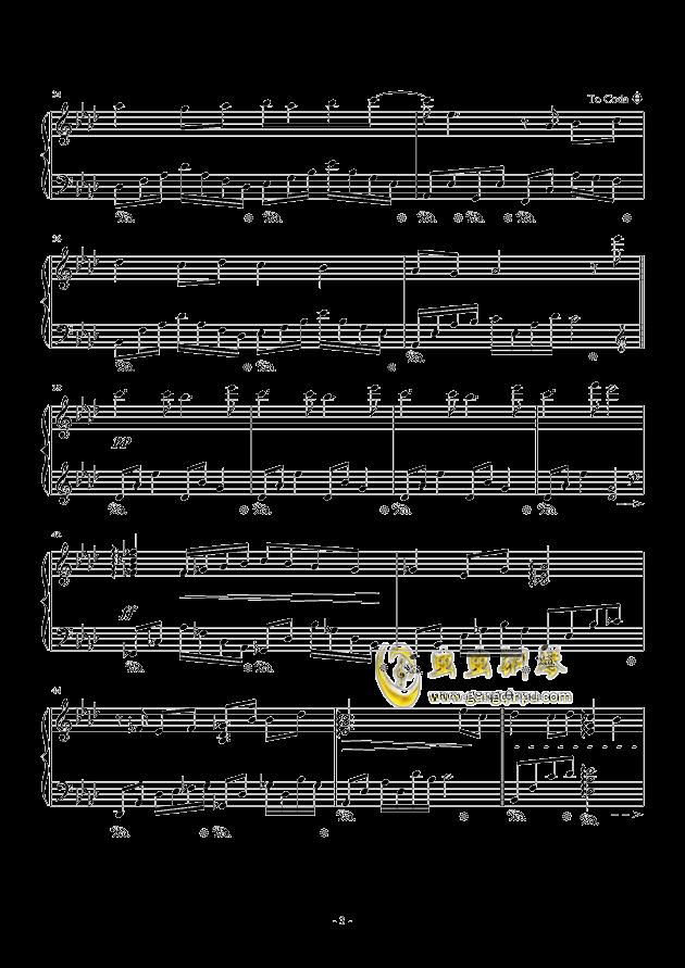 遇见钢琴谱 第3页