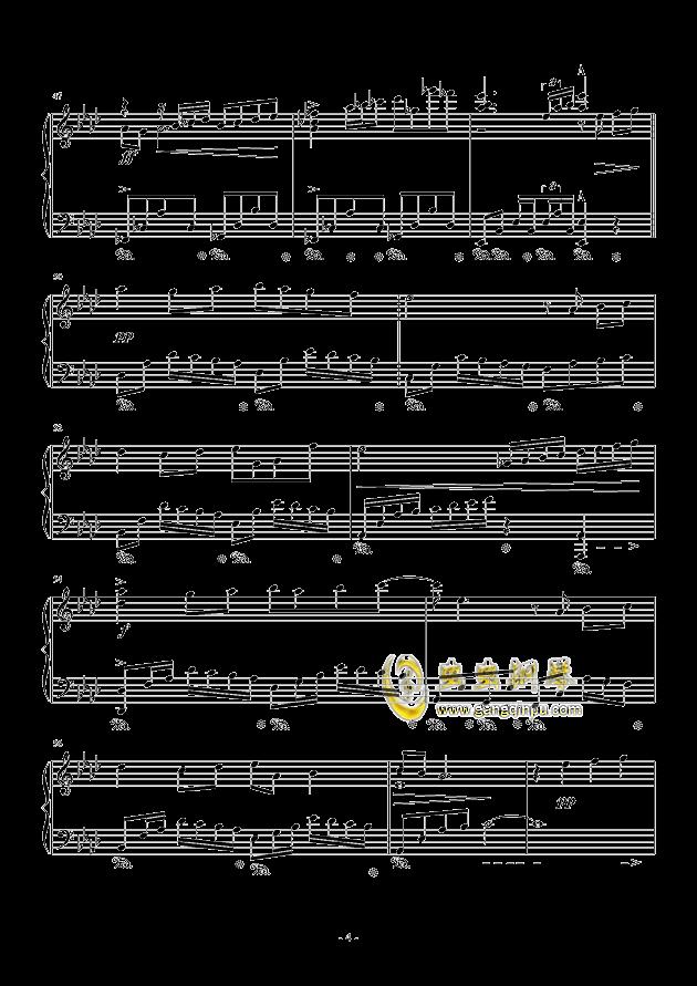 遇见钢琴谱 第4页